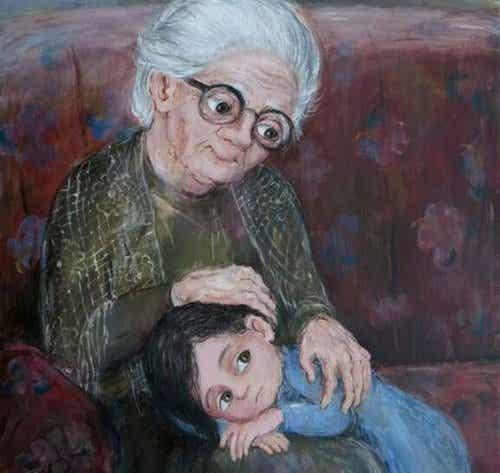 Mijn oma, de mooiste ster aan de hemel