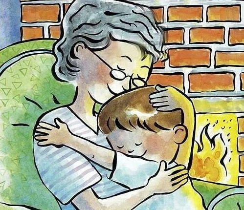 Mijn oma, de mooiste emotionele invloed op mij