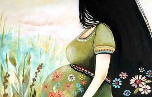 Prenatale stimulatie door aanraking