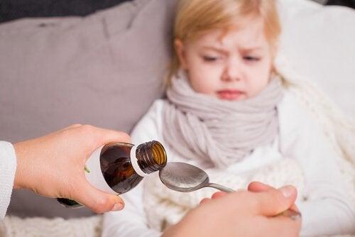 De behandeling van wormen bij kinderen