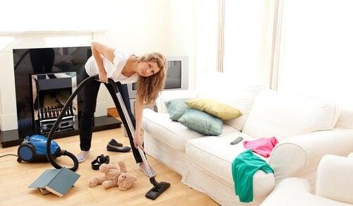 Een paar handige tips om een rommelig huis te voorkomen
