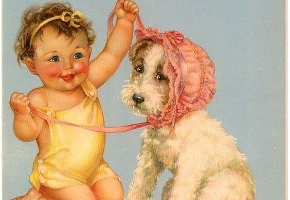 Bewaar kleine souvenirs van de kindertijd van je kind