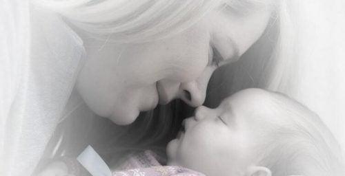 De geur van een baby: een sensationele band