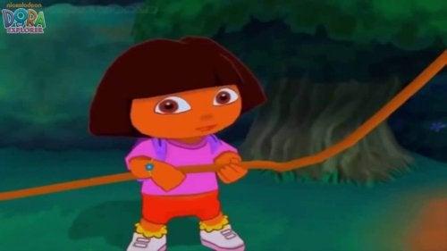 7 Geweldige televisieseries voor baby's waaronder Dora