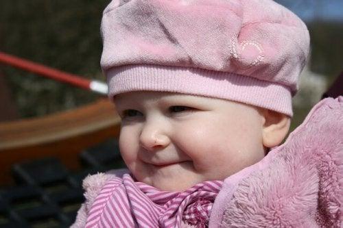 Het brein van je baby onder een mutsje