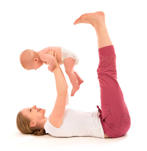 Gewicht verliezen na de zwangerschap