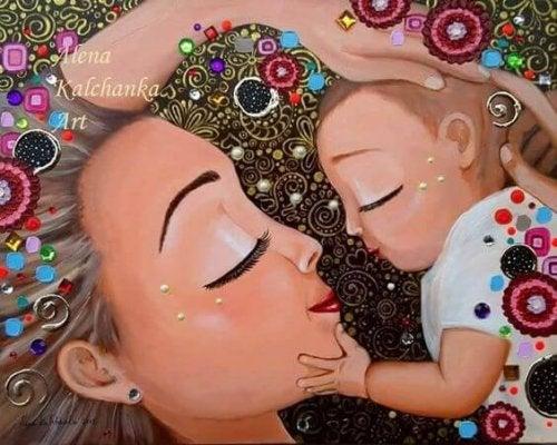 Je moeder zijn is de beste baan ooit!