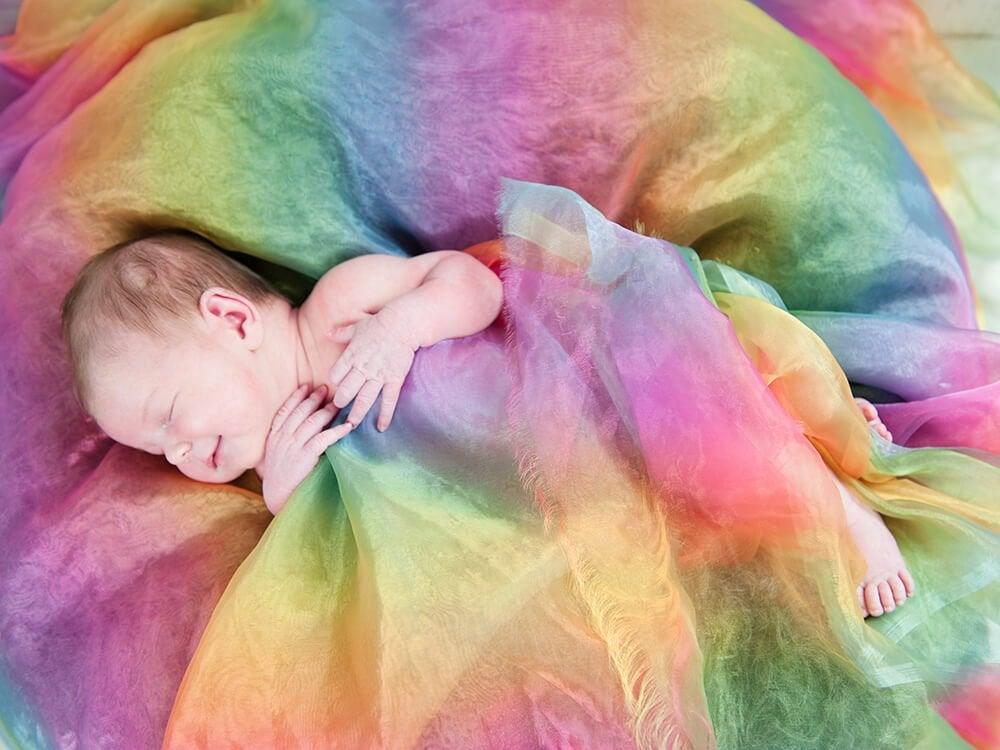 Een ander soort moederschap: sterren- en regenboogbaby's