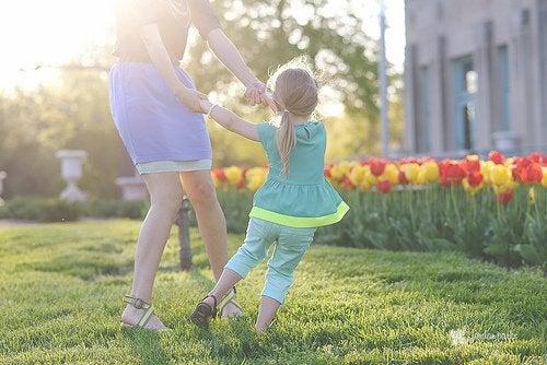 Veranderingen wanneer je moeder wordt: dansen met je dochter