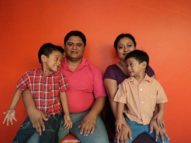 Het tonen van genegenheid in het gezin