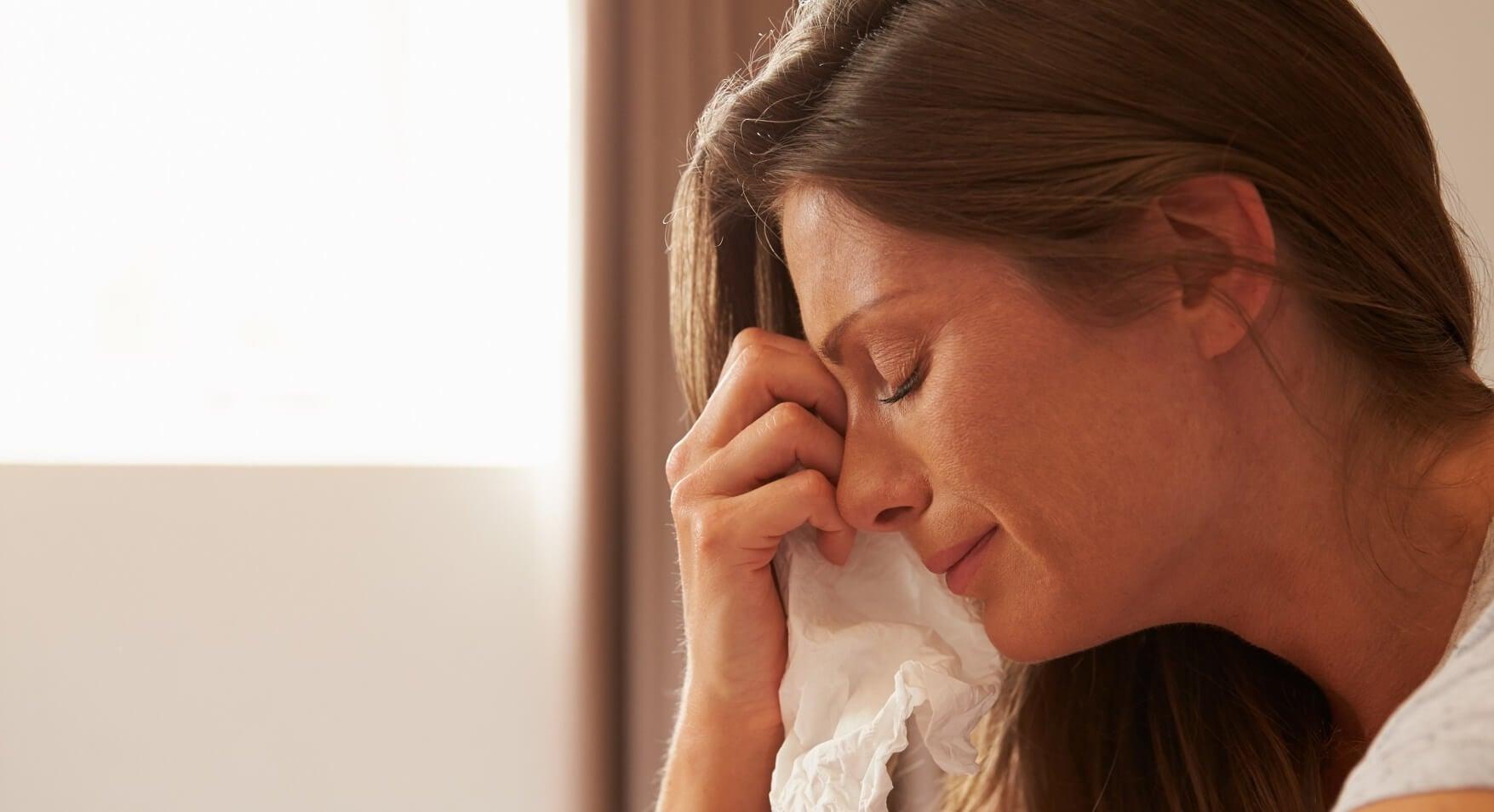 Uitgeput zijn – ook moeders huilen soms door stress en angst