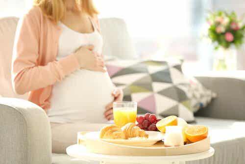 Verboden voedingsmiddelen voor zwangere vrouwen