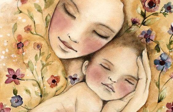 Je baby wil alleen slapen in jouw armen