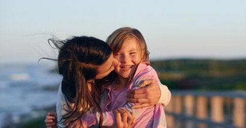 Moeder kust dochter