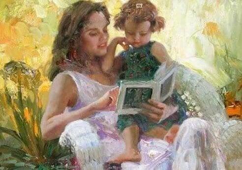 De liefde voor leren is samen lezen met je magische wezen
