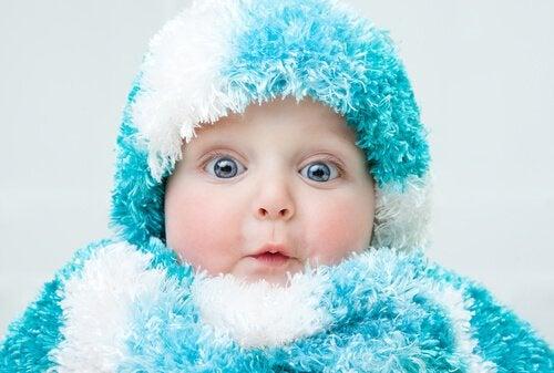 Voorkom dat je baby verkouden wordt