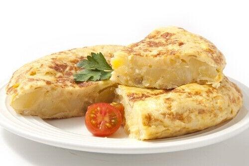 Heerlijke omeletten om te maken voor kinderen