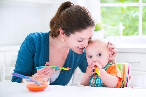 Hartige recepten voor baby's van 6 tot 9 maanden