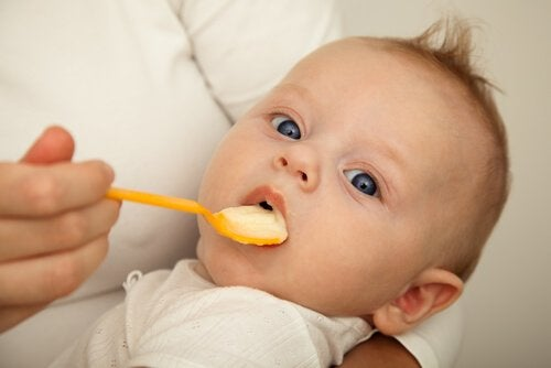 Hoe en wanneer je baby met vast voedsel kan beginnen