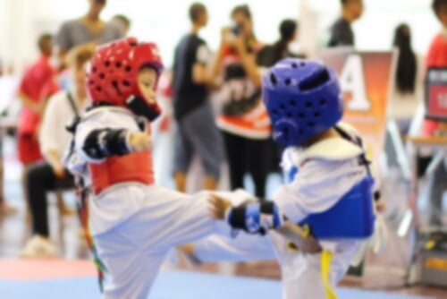 Benodigd materiaal om taekwondo te beoefenen