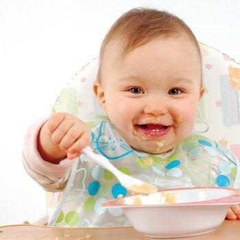 De beste babyvoeding voor kinderen