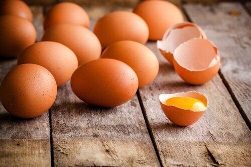 Eieren zijn een geweldige bron van eiwitten, vitamines en mineralen