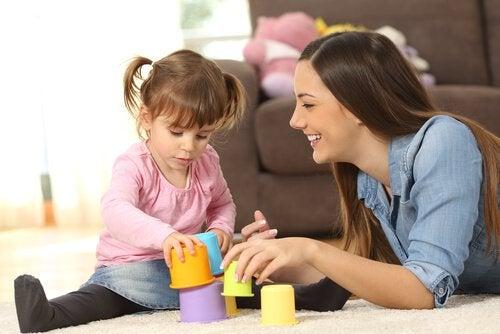 Speelgoed dat het groeperen bevordert
