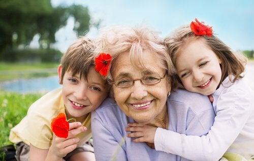 Onze grootouders wonen in ons hart