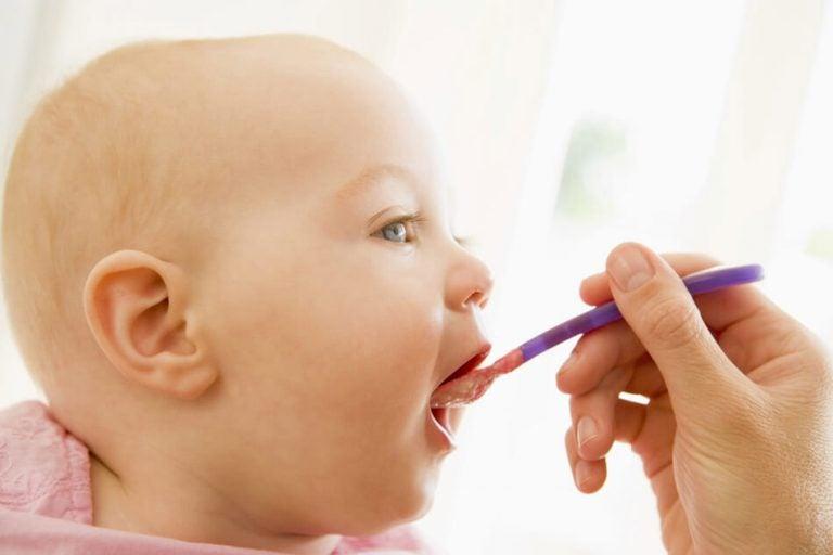 Baby eet puree