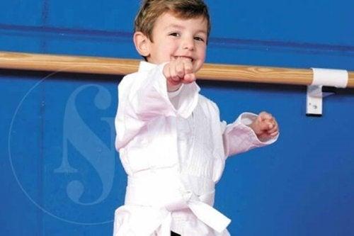 Sporten tijdens de kindertijd is belangrijk