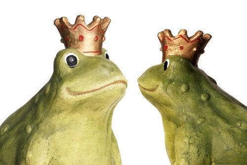 Fabels met een onvergetelijke moraal: de twee kikkers