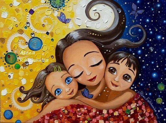 Een lieve moeder zijn, maakt je kinderen niet verwend
