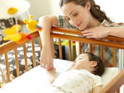 De ideale slaaphouding voor je baby: op de rug