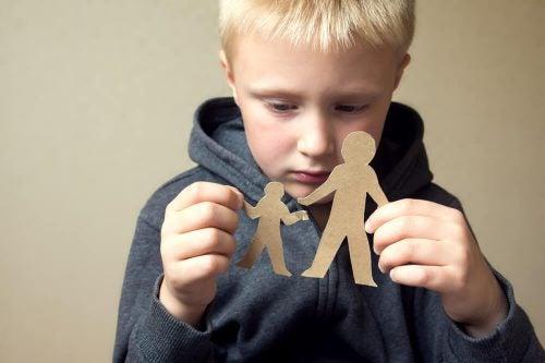 Plaats jezelf nooit tussen je kind en je ex