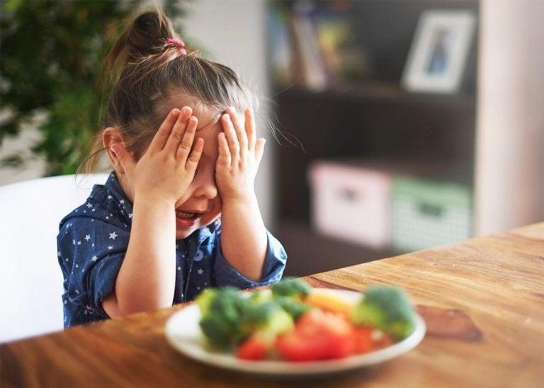 Een slechte voeding bij kinderen: te weinig groenten