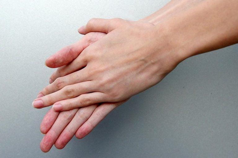 Gewassen handen