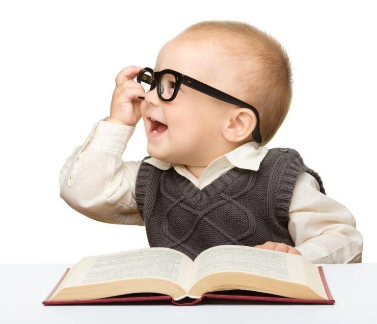 Intelligent jongetje