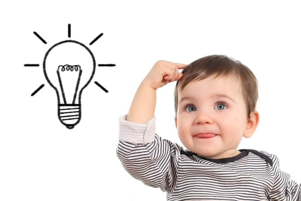 Hoe je de intelligentie en het geheugen van je baby stimuleert