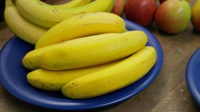 Schaal met bananen