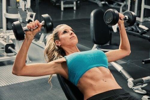 Verzorging van je borsten door sport
