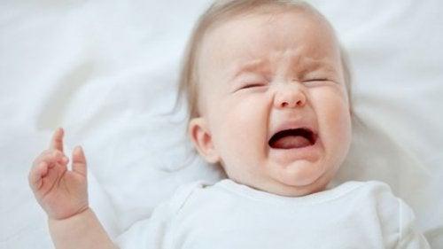 Constipatie oplossen: huilende baby