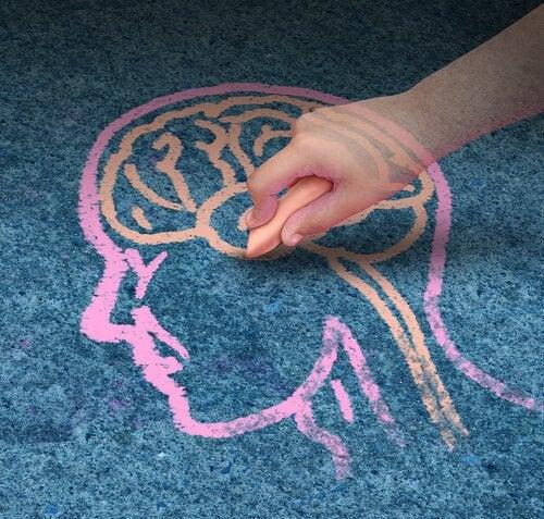 Tekening brein