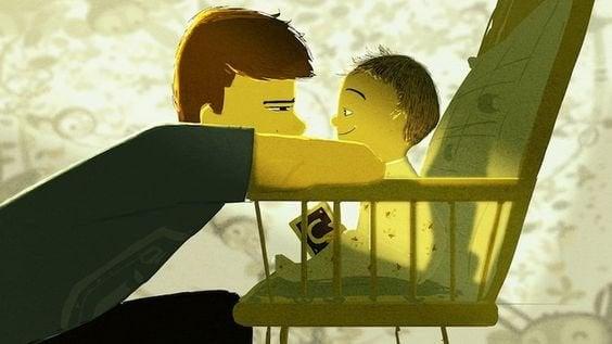 Een goede band tussen vader en zoon dankzij natuurlijk ouderschap