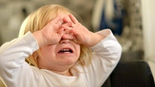 Driftbuien bij kinderen en huilen