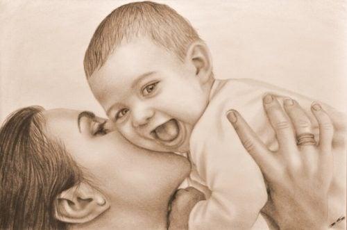 Je vindt nieuwe plekken in je hart wanneer je van een kind houdt