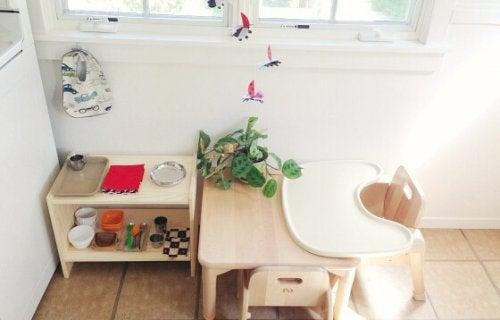 Montessori meubelen
