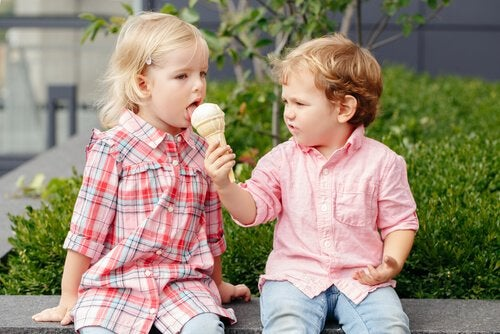 Samenleven met anderen: ijsje delen