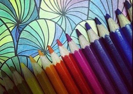 Kleurpotloden en een mandela