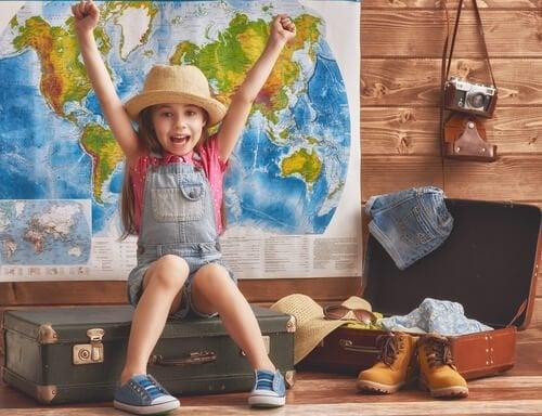 Reizen op jonge leeftijd: de voordelen