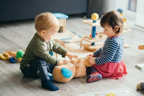 Besmettelijke ziektes die zich verspreiden op kinderdagverblijven